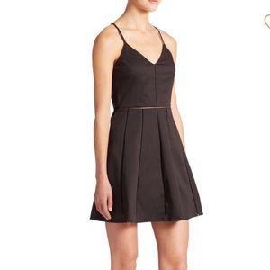 Parker Juliet seemed A line dress black small